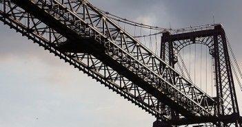 Puente colgante de Portugalete, en Bilbao, País Vasco. Fotografía de Pixabay.