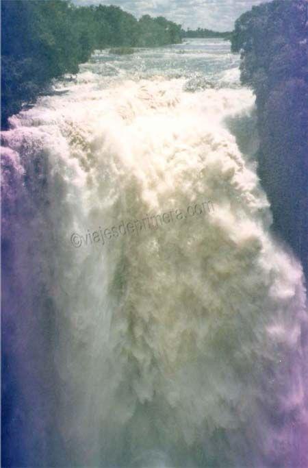David Livingstone fue el primer europeo que vio las Cataratas Victoria de África