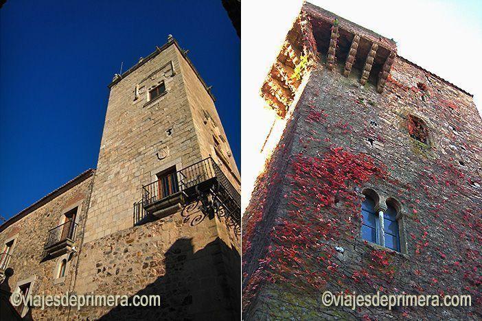 Las torres de Cáceres fueron desmochadas por Isabel la Católica para evitar la insurrección de sus nobles.