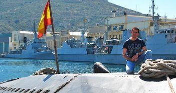 El submarino Siroco de la Armada Española pertenece a la Clase Galerna S70, la primera en la que se autorizaron tripulaciones mixtas.