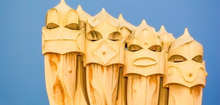 La Casa Milá es una de las obras de Gaudí más conocidas de Barcelona