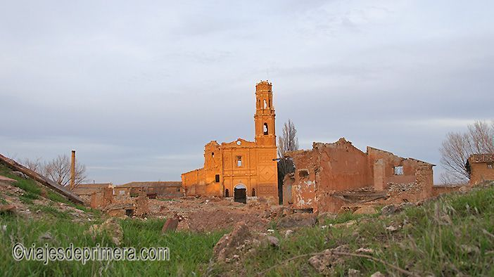 Belchite Viejo, historia, fotografías y visitas guiadas | Viajes de ...