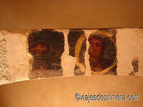Los frescos de la ciudad nabatea de Mamshit hablan de la influencia bizantina de las ciudades del Desierto del Néguev