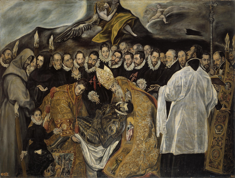 La iglesia de Santo Tomé es uno de los lugares que ver en Toledo porque allí se conserva El entierro del Conde de Orgaz de El Greco