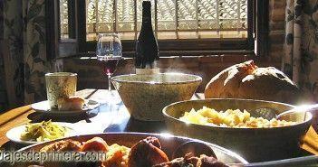 Cocido maragato en Casa Coscolo,Castrillo de los Polvazares, Léon