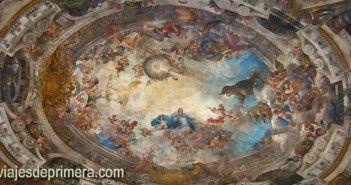 Frescos de la cúpula de San Antonio de los Alemanes en Madrid