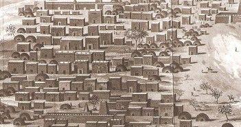 Detalle de le portada del libro De Djenné a Tombuctú, de René Caillé, publicado por Alhena Media