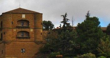 Torre del Caracol del Castillo de la Mota de Benavente, hoy Parador de Turismo