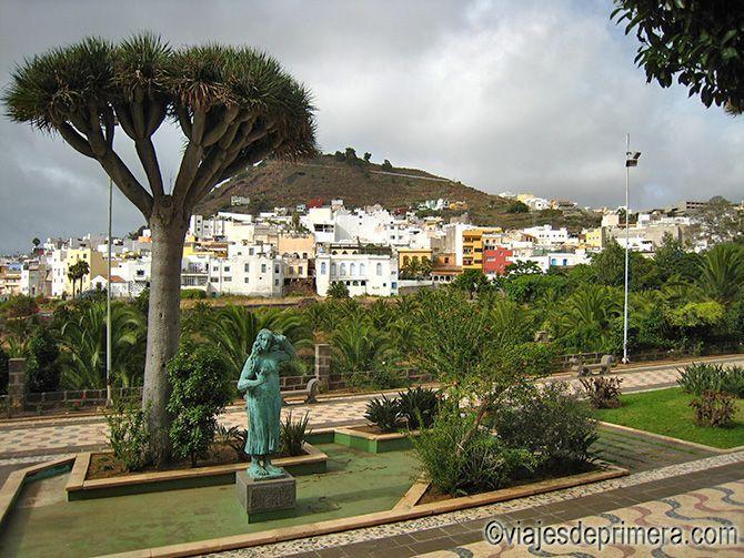 Paisaje urbano de las Islas Canarias