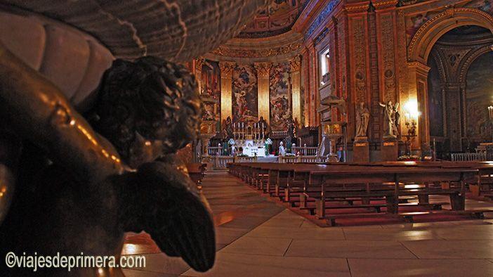 Iglesia de San Francisco el Grande que Carlos III ordenó construir.