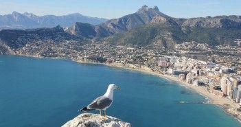 Vistas de Calpe, Alicante, España. Fotografía de Pixabay.