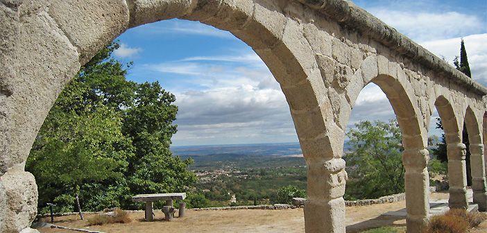 Vistas de Madrid desde el Convento de San Antonio de La Cabrera