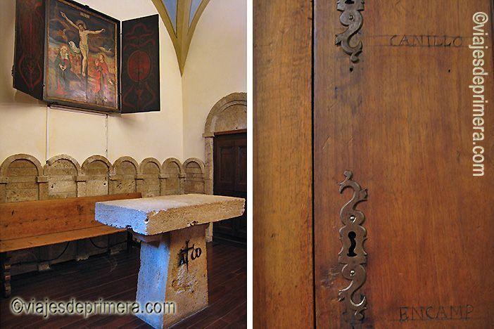 El altar y el armario de las siete llaves son recuerdos de las tradiciones asociadas a la historia de Casa de la Vall