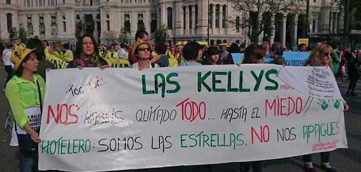 Las Kellys es una de las asociaciones de camareras de piso más activas y visibles en la reivindicación de los derechos laborales en el sector hotelero