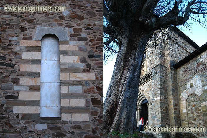La Iglesia de San Francisco es uno de los lugares de interés en Villafranca del Bierzo, muy cerca de Las Médulas