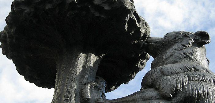 La escultura El oso y el madroño de Madrid cumple 50 años