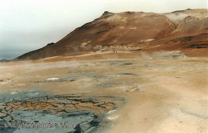 La palabra géiser se inventó en Islandia y durante tu ruta circular podrás ver varios de ellos