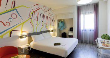 El Ibis Styles Madrid Prado es un hotel temático de Madrid inspirado en el mundo del vino