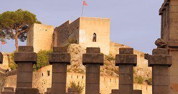 Entre las cosas que ver en Xátiva destaca su Castillo o doble Fortaleza