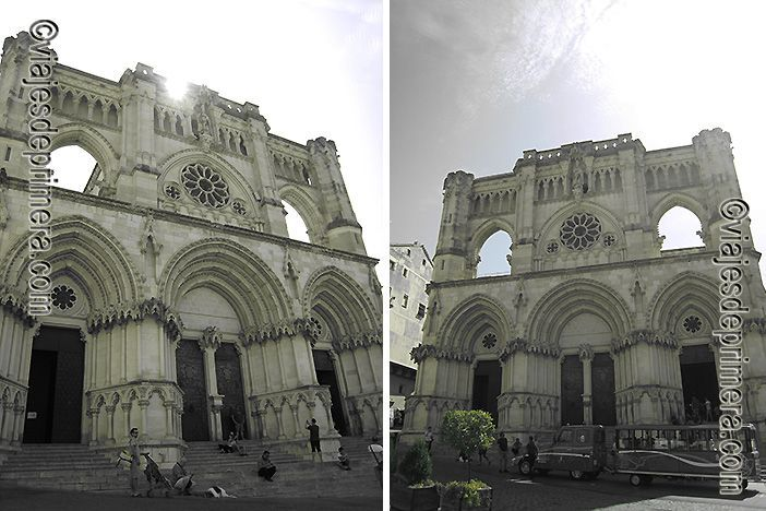 La Catedral de Cuenca es uno de los lugares que ver en un día porque es la primera catedral gótica de España