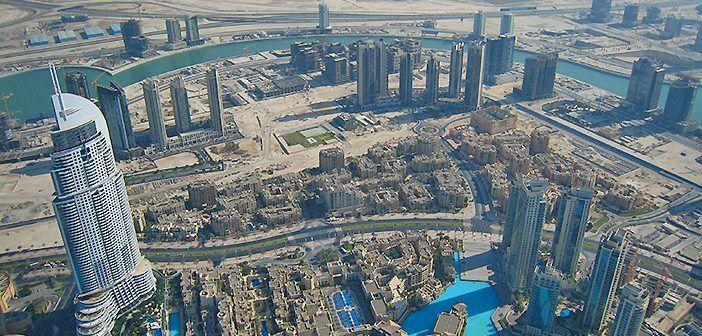 Así se ve Dubái desde lo alto del Burj Khalifa, la torre más alta del mundo