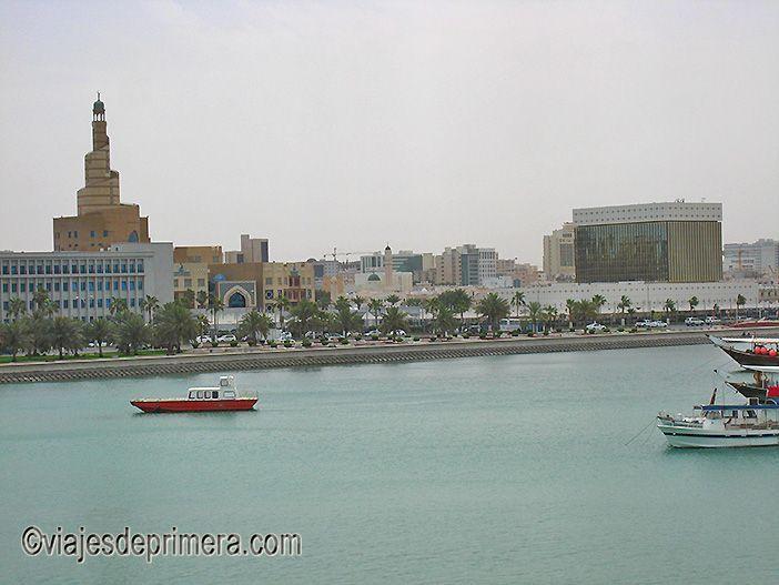 Otro lugar que ver en Doha es el Museo de Arte Islámico, desde el que se tienen estas preciosas vistas