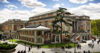 El Museo del Prado es uno de los museos más importantes del Paseo del Arte de Madrid