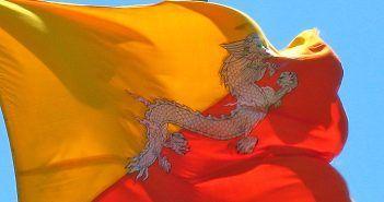 Bután tiene un dragón como símbolo nacional en su bandera