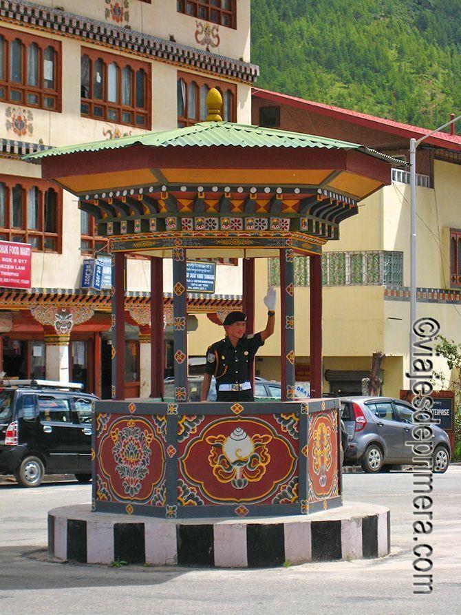 Timbu, capital de Bután, es una ciudad sin semáforos