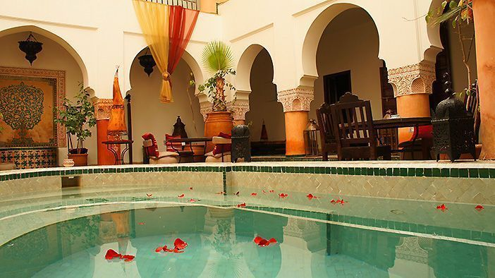 Riads de marrakech hoteles con encanto en marruecos - Hoteles en galicia con encanto ...