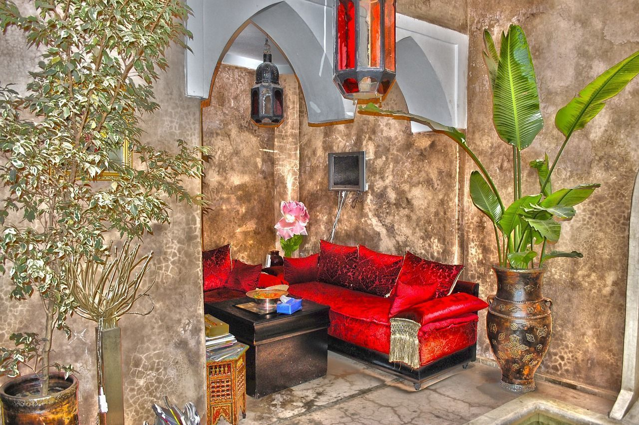 riads de marrakech hoteles con encanto en marruecos viajes de primera. Black Bedroom Furniture Sets. Home Design Ideas