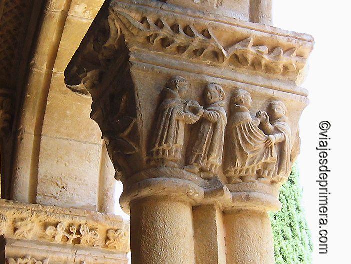 Los capiteles de Santa María la Real de Nieva son fotografías de la sociedad medieval de Segovia.