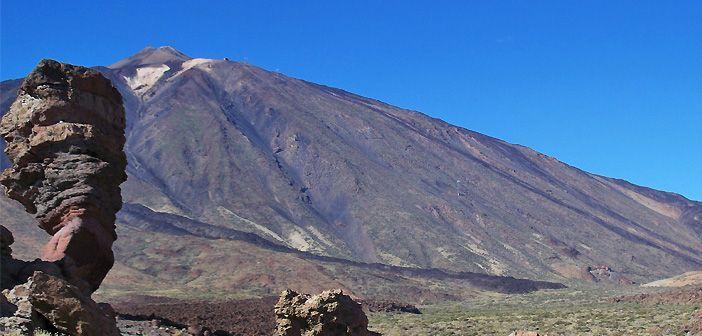 El Teide de Tenerife, tercer volcán más alto del mundo
