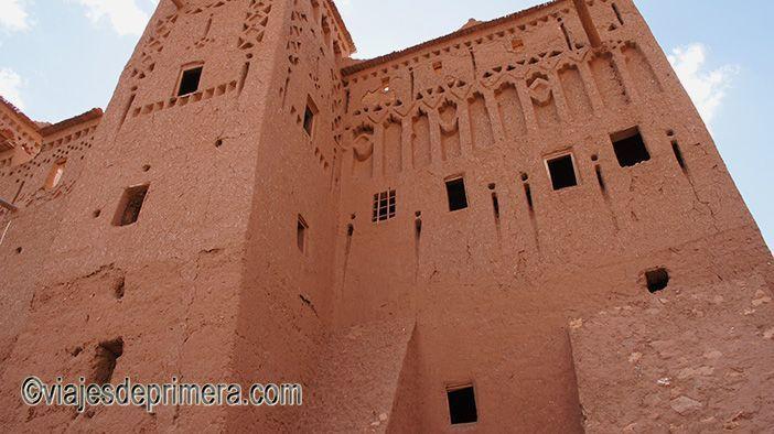 Las kasbahs de Marruecos se construían con pisé, un material fácilmente erosionable por la lluvia y el viento.