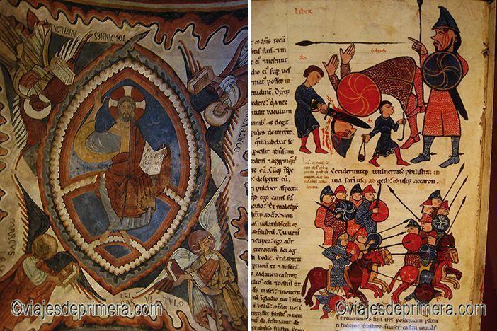 Las pinturas del Panteón de San Isidoro de León y la Biblia Mozárabe de su Biblioteca son lugares que tienes que ver en León