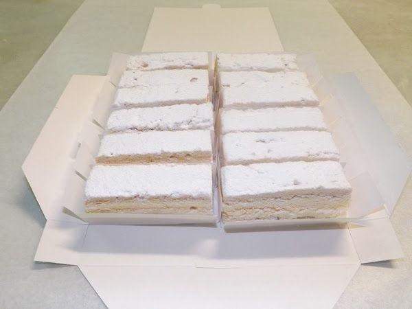 Los rusos de las pastelería Marcos son uno de los dulces más típicos de Alfaro, en La Rioja
