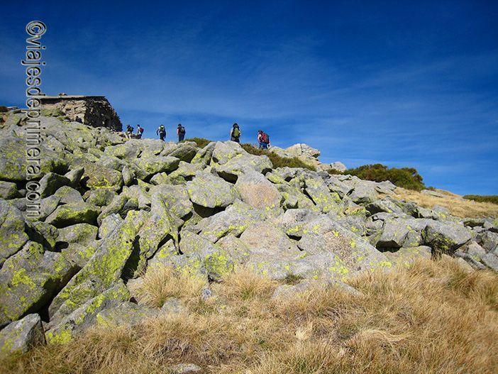 Refugio para senderistas en la Sierra de Gredos