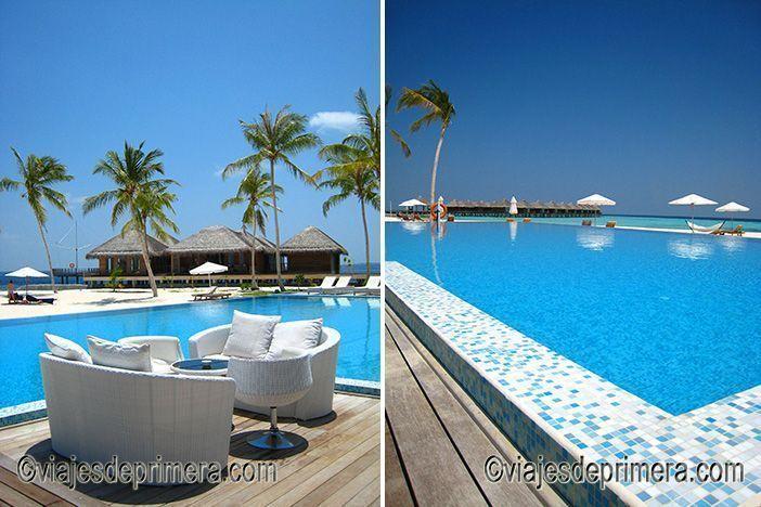 Si viajas a Maldivas merece la pena que reserves una water villa para tener una experiencia totalmente distinta del destino