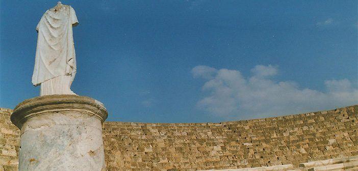 El teatro romano de Solos es uno de los lugares de interés de Chipre.