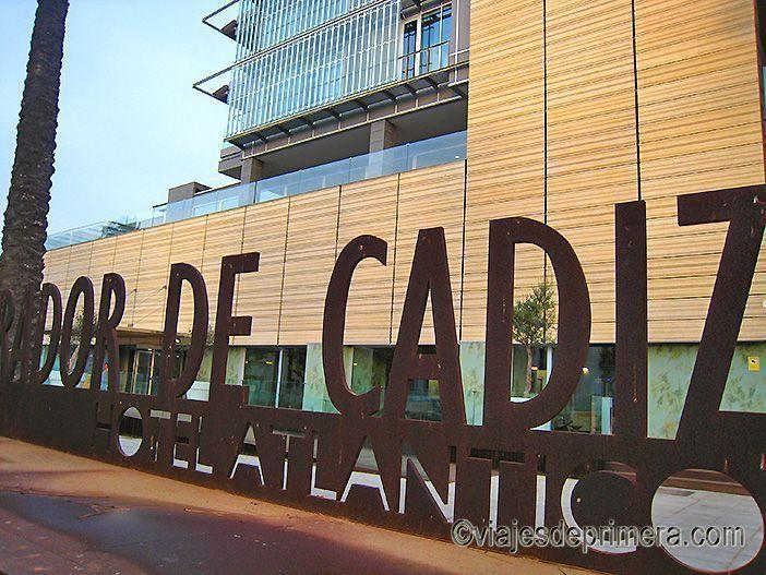 El Parador de Cádiz es uno de los mejores y más diferentes de España por su modernidad y su ubicación