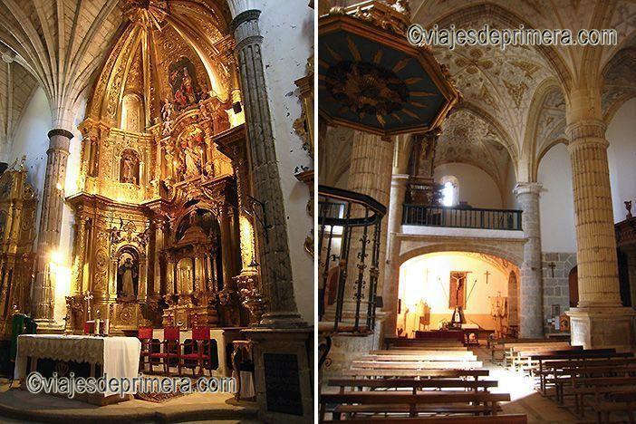 El interior de la iglesia de Paradinas confirma que es uno de los pueblos bonitos de Segovia que debes conocer