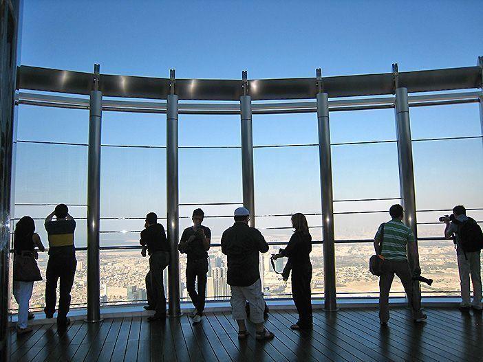 El Mirador The Top del Burj Khalifa es uno de los lugares de interés de Dubái