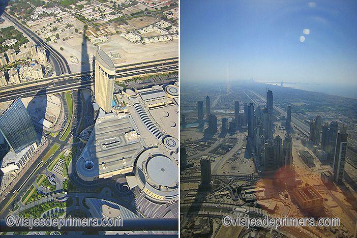 La torre más alta del mundo tiene la sombra más larga del mundo y es uno de los lugares de interés si haces turismo en Dubái.