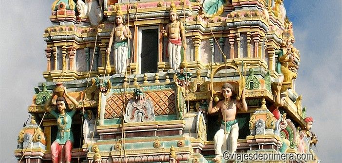 El Hinduismo es una de las religiones más importantes en Isla Mauricio