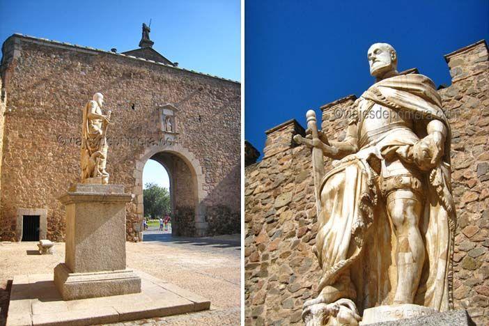 Puerta de Bisagra de Toledo en honor a Carlos I de España