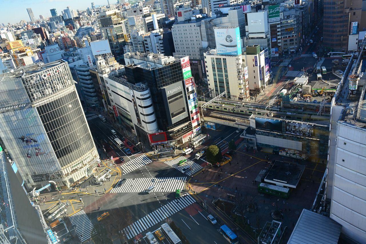 El cruce de Shibuya en Tokio tiene el paso de cebra más grande del mundo
