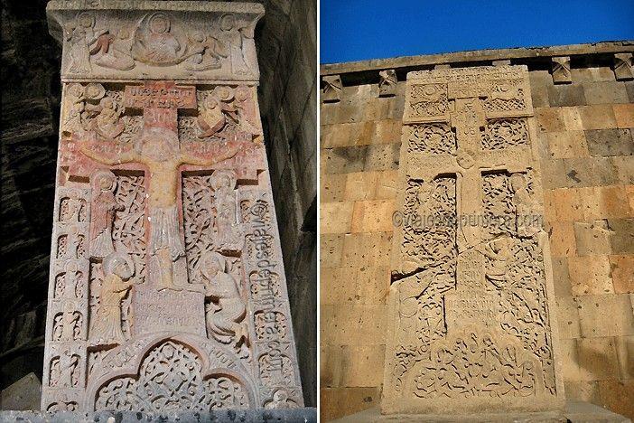 Las Cruz piedra son una de las tradiciones de Armenia más antiguas y respetadas, reconocidas también como Patrimonio de la Humanidad.