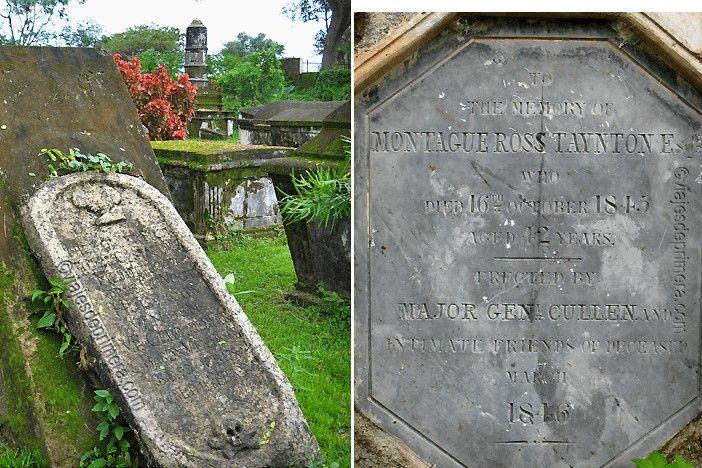 El cementerio holandés de Kerala es uno de los cementerios más antiguos del mundo.