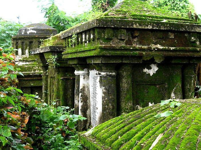 El Cementerio holandés de Kerala es el primero que hubo para occidentales en la India.