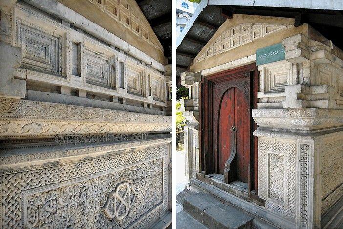 Estas tumbas recuperan la memoria de los sultanes que gobernaron las islas de Maldivas hasta casi finales del siglo XVI.